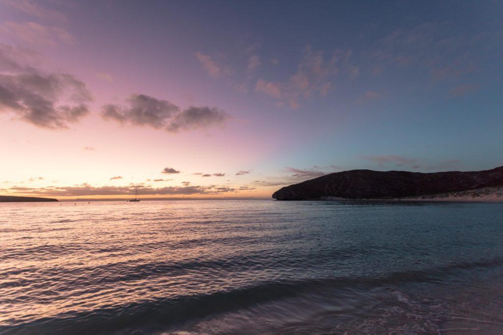 Atardecer en Playa Balandra